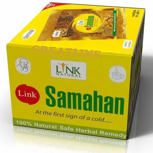500 X Samahan Ayurveda Ayurvedic Herbal Tea Natural Drink for Cough & Cold by Samahan