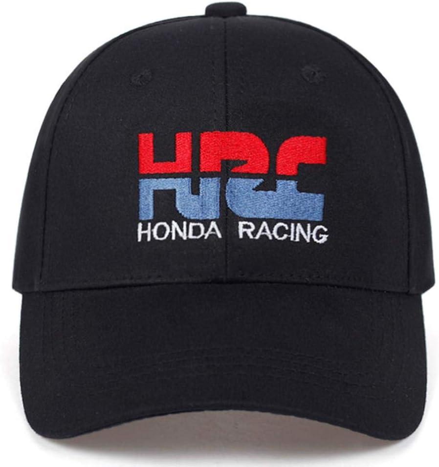 AJSJ Casquette De Baseball HRC Honda Racing Car Fans1 Broderie Hommes Femmes Casquettes De Baseball R/églable Chapeaux Os