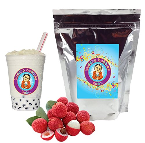 Lychee Boba/Bubble Tea Powder By Buddha Bubbles Boba 10 Ounces (283 Grams) (Best Things In Taichung)