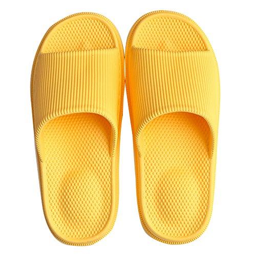 Chaussures Chaussons Croûte Yellow Massage Épais Purple Et Et Hommes 37 Pantoufles HONG JIA Sandales Femmes Bain 39 D'été Couple Intérieur Accueil 40 Bain 38 Intérieur Antidérapant Uq5Hp