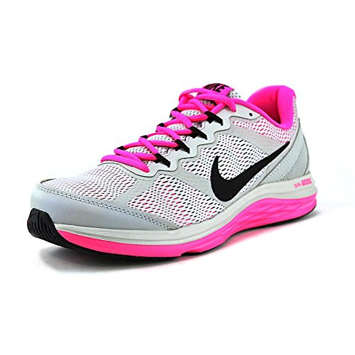 new arrival e7abc 6204e Nike Women s Dual Fusion Run 3 Grey Mist Black Pink Pow Running Shoe 7.5 Women  US - Buy Online in Oman.   Shoes Products in Oman - See Prices, ...