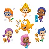 """Bubble Guppies Set of 8 Removable Wall Stickers 10"""" Inch Bubble Guppies"""