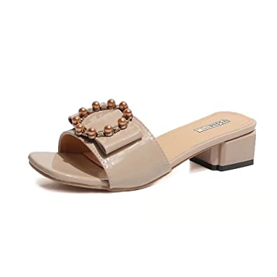 e29783263312e7 Summer Slippers Women Flat Platform Sandals Shoes Beach Slip-on Leather  Wedges Slides flip Flops
