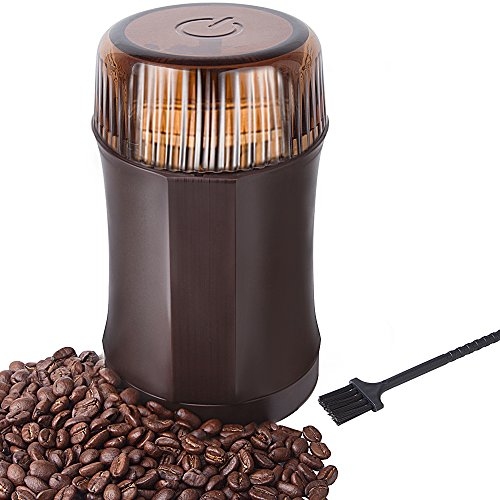 Coffee Grinder AmoVee Electric Grinder with 304...