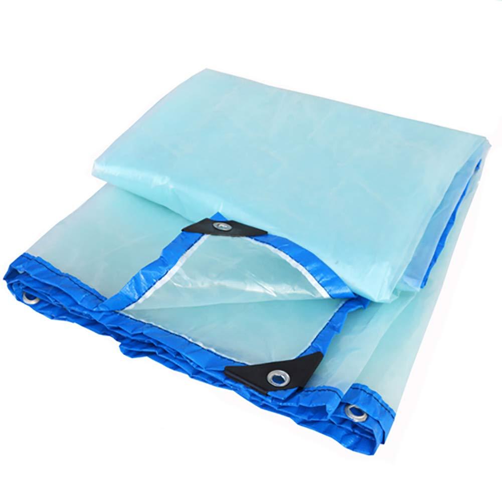 A 5×5m AJZGF en Plein air Imperméabilisez la Toile imperméable résistante de bÂche Transparente avec la bÂche perforée de Toit de Tissu de Coupe-Vent