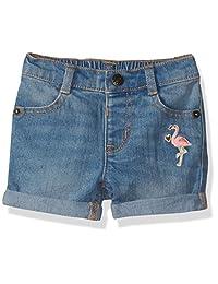 Crazy 8 Pantalones Cortos de Mezclilla con 5 Bolsillos para niñas