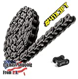 41 Roller Chain 3 Feet with 1 Connecting Links Go-karts, Scooters and Mini Bikes