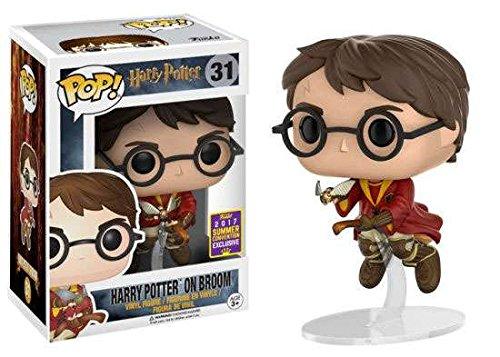 Funko Pop! Harry Potter #31 Harry Potter on Broom (Summer Convention (Harry Potter Toy Broom)