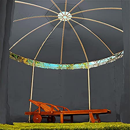 Deuba Carpa Toscana de 3,5 m Color Antracita pabell/ón de jard/ín cenador Exterior hidr/ófugo terraza protecci/ón