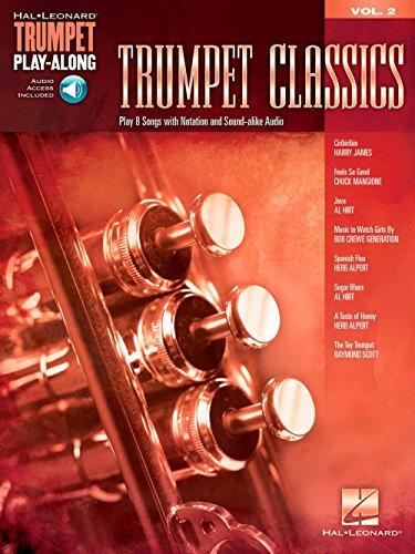 Blues Leonard Hal Trumpet - Hal Leonard Trumpet Classics - Trumpet Play-Along Vol. 2 (Book/Audio)