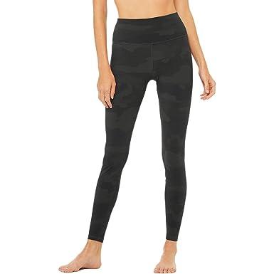 Amazon.com: alo yoga high-waist vapor – Leggings – para ...