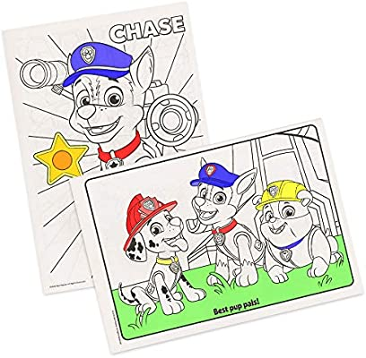 Amazon.com: Paw Patrol Coloring Books - 2 Pack: Toys & Games