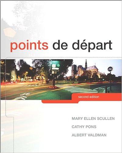 points de depart ebook