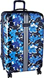 Tommy Hilfiger Floral Hardside 28'' Spinner,Luggage, Blue Floral