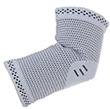 Compression Sleeve (Sports Elbow Protector with Copper) Pair Size Medium - Guaranteed