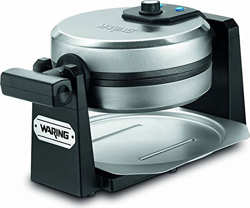 Waring Pro WMK200 Belgian Waffle Maker, Stainless Steel/Black [DISCONTINUED] (Commercial Waffle Mix compare prices)