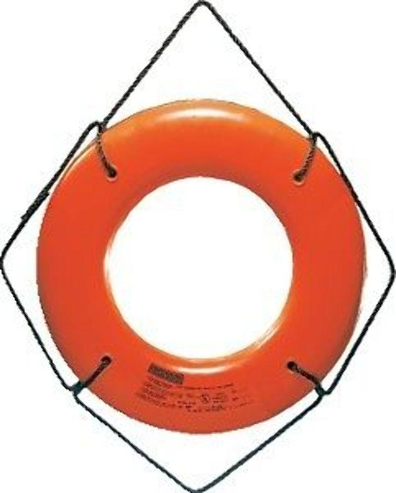 Jim-Buoy JBO-X-20 U.S.C.G. Approved JBX-Series Life Ring, Orange, 20'' by Jim-Buoy (Image #1)