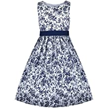 Emma Riley Girls' Printed Toile Party Dress