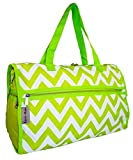 Karri-Mate Chevron Duffle Bag (Green) For Sale