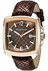 Tommy Bahama  Men's 10018311 Maui Roadster Analog Display Japanese Quartz Brown Watch