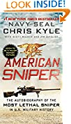 #5: American Sniper: The Autobiography of the Most Lethal Sniper in U.S. Military History