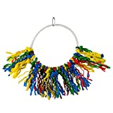 Animal Treasures LBW-0371 Birdie Circle Knot Happening Bird Toys