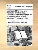 Memoirs of the Year Two, Louis Sebastien Mercier, 1170129374
