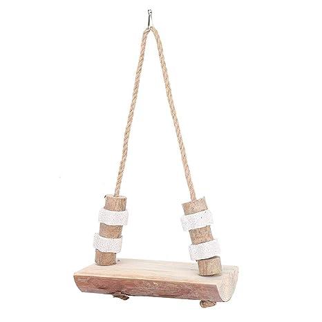 Pet Hamster Swing con Piedra de afilar, Plataforma Colgante ...
