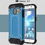 Galaxy 2016 A5 Case,OMORRO Super Shield Ultra Slim Tough Armour Premium Dual Layer Hybrid Shockproof Anti Scratch Armor Defender Hard Rugged Rugged Case for Samsung Galaxy A510 Blue