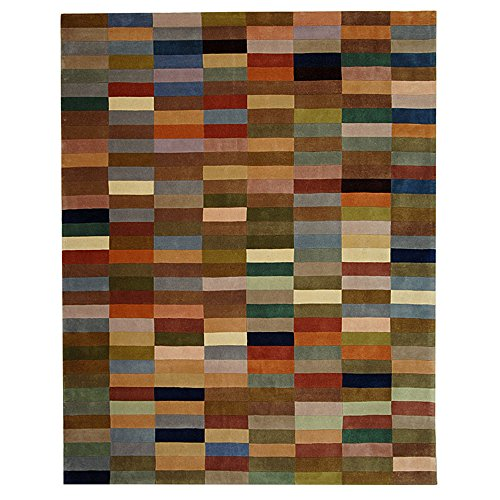 Safavieh Rodeo Drive Collection RD644A Handmade Modern Abstract Multicolored Wool Area Rug (5' x 8')