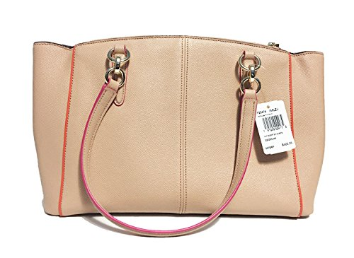 Im Pink Christie Nude in Coach Crossgrain Carryall Multi Leather wFA6U4q