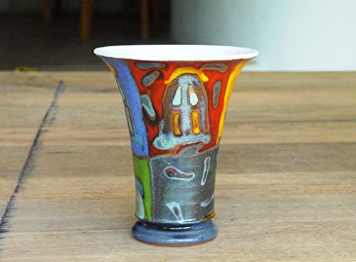 Hand Painted Water Goblet - 9