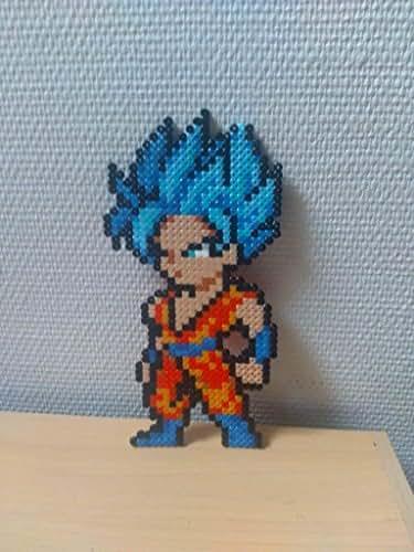 Sprite Goku - SSJB - Dragon ball super - Hama beads