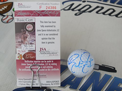 Ricky Fowler PGA signed Pinnacle Hot Shot golf ball w/FULL SIGNATURE JSA COA -