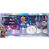 Townley Girl Disney's Frozen Cosmetic Set for Girls, Nail Polish, Lip Gloss, Hair Accessories, Mirror and more