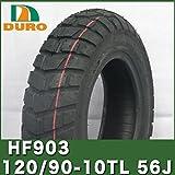 120/90-10(HF903) ダンロップ OEM ズーマー フロントタイヤ BW'S100 リアタイヤ VOX用DURO製 フロントタイヤ DURO製