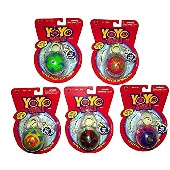 ball yoyo. yo-yo ball, assorted - color and styles vary ball yoyo