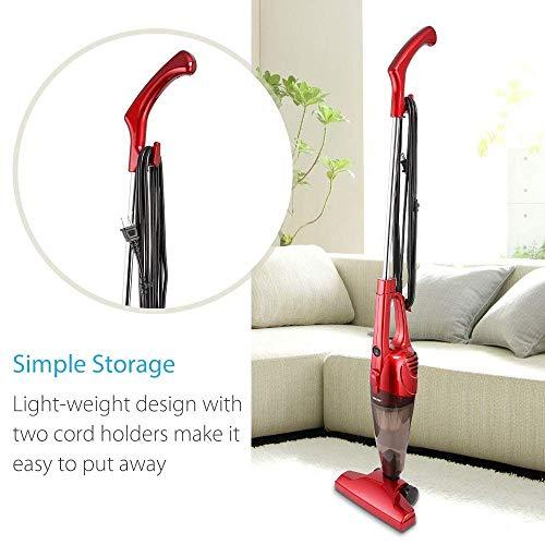 BESTEK in 1 Stick Cleaner, Bagless Handheld Electric Broom Dust Catcher with HEPA