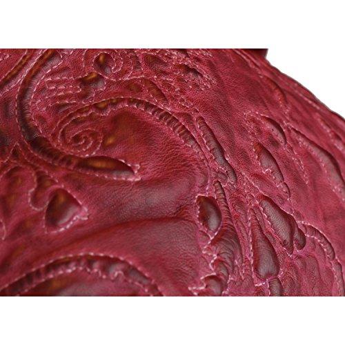 Billy the Kid Marruecos Alia bolso de cuero 46 cm Red