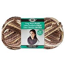 Cozy Wool Yarn, 3.5 oz by Loops & Threads multicolor (beige/brown)