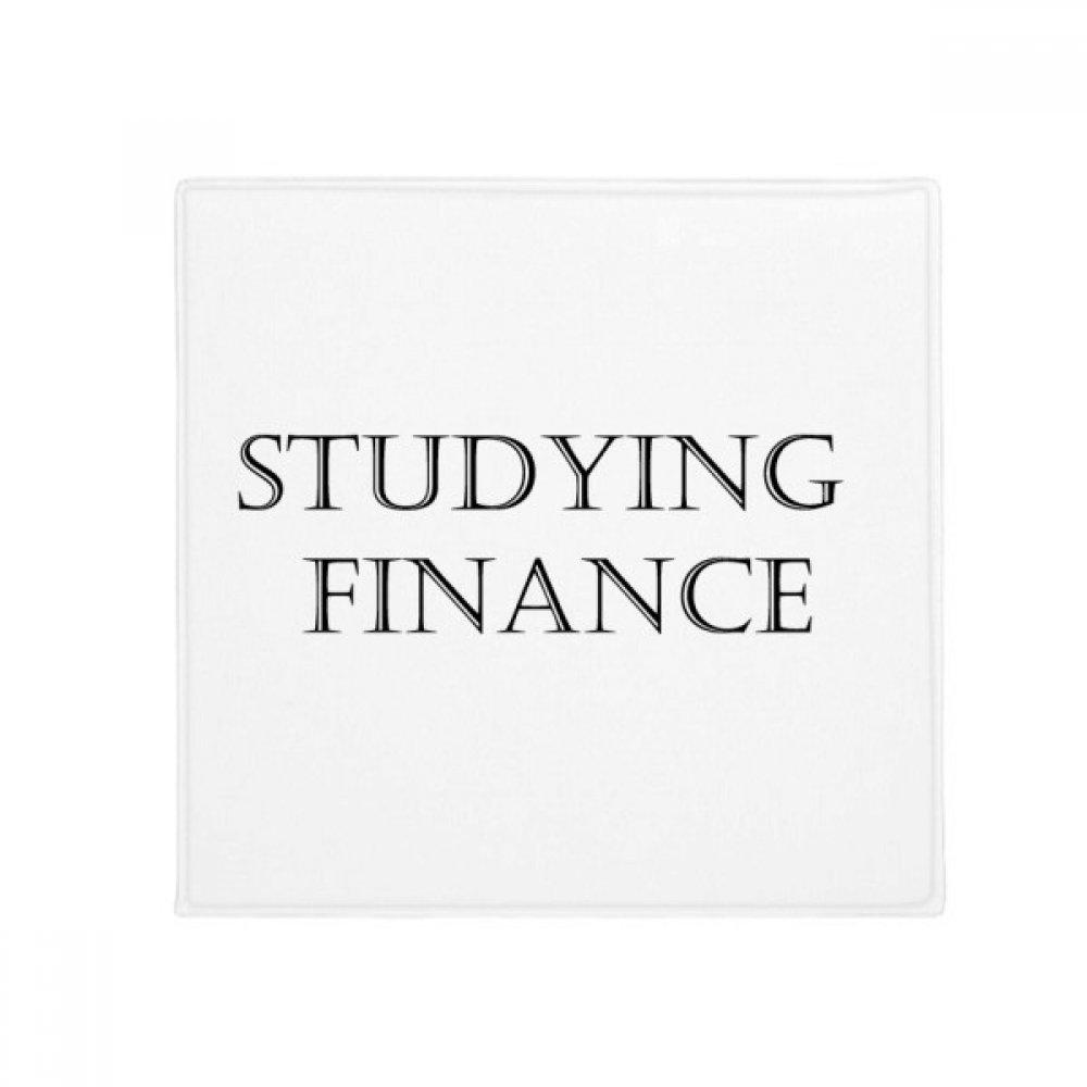 DIYthinker Short Phrase Studying Finance Anti-Slip Floor Pet Mat Square Home Kitchen Door 80Cm Gift
