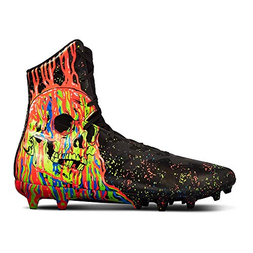 Under Armour Men's Highlight MC-Limited Edition Football Shoe, Black (003)/Neo Pulse, 11