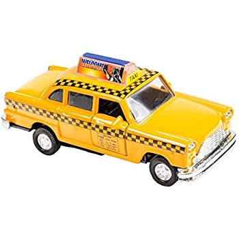 Nyc Checkered Taxi Cab Die Cast Metal Scale 1 32 With