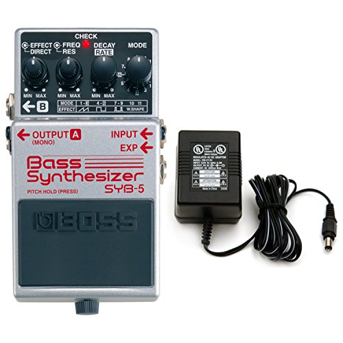 BOSS SYB-5 Bass Synthesizer Pedal w/ Power Supply Bass Synthesizer