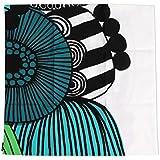 マリメッコ(marimekko) シイルトラプータルハ クッションカバー 50×50cm ホワイト/グリーン SIIRTOLAPUUTARHA 63879-160 [並行輸入品]