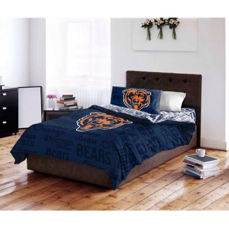 Set Full Chicago Sheet Bears (NFL Chicago Bears Bedding Set, Full #27942617)