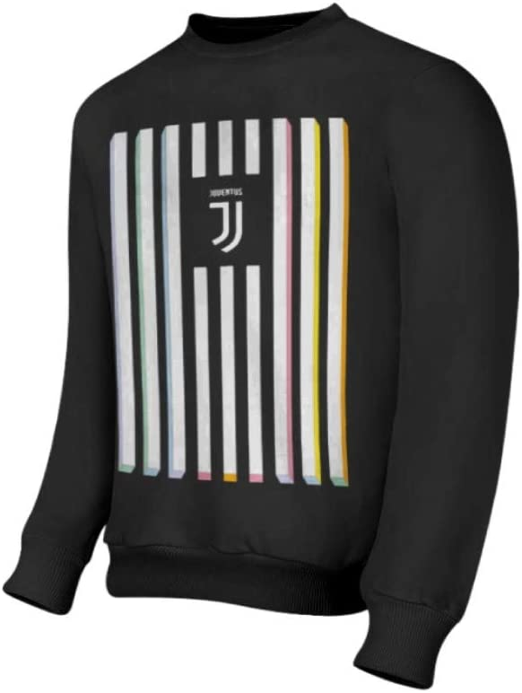 Bambino//Ragazzo Prodotto Ufficiale Juventus Felpa Ufficiale Collezione Colored