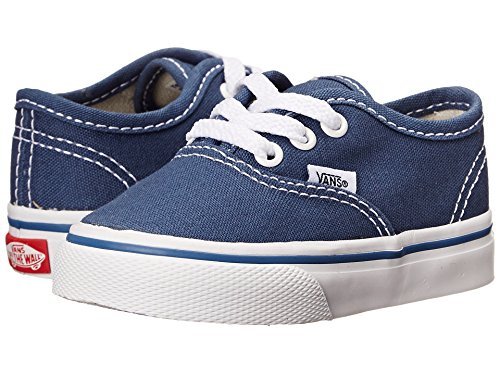 Vans Unisex Child Authentic - Navy - 6 Toddler