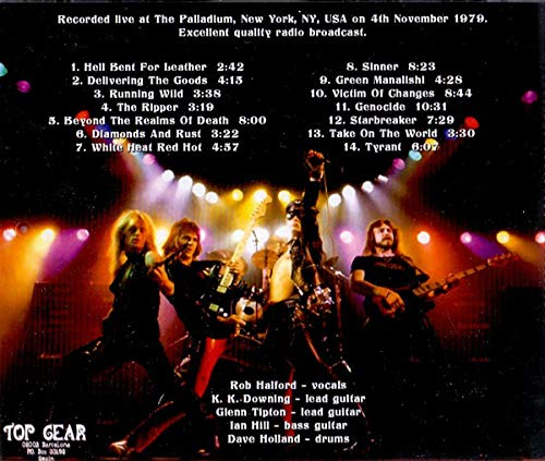 Live In New York 1979 by (Judas Priest)