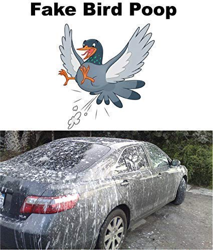 Fake Bird Poop Special Effects